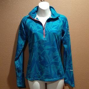Nike Running dri fit zip u pullover sz S